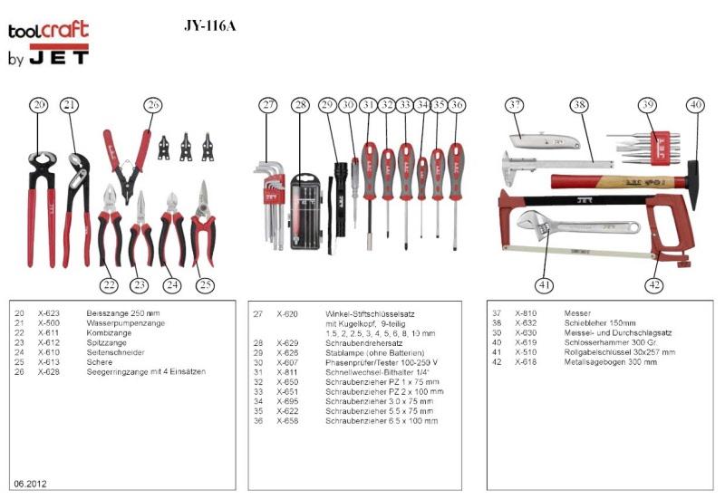 jet tools werkzeugkoffer. Black Bedroom Furniture Sets. Home Design Ideas